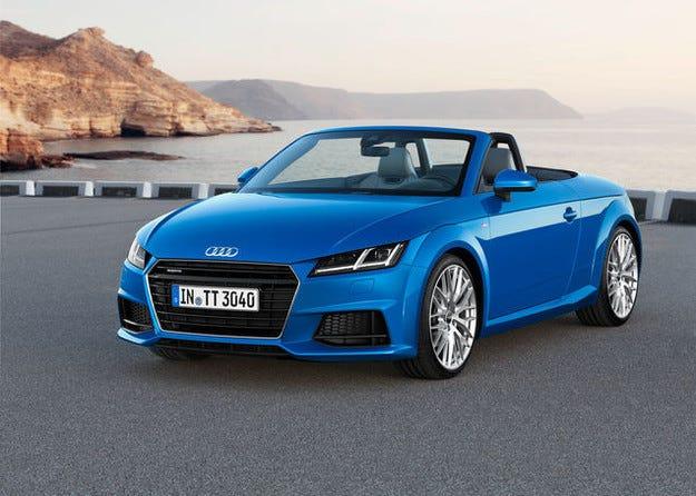 Audi TT Roadster е новият открит спортист