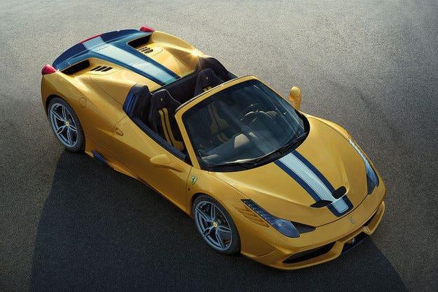 Ferrari 458 Speciale A: Екстремен Spider вариант