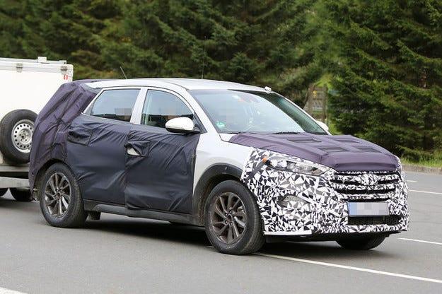 Бъдещият Hyundai ix35 вече е на пътни изпитания