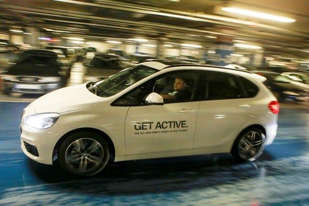 Първа среща с BMW Серия 2 Active Tourer у нас