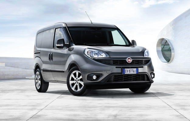 Компактният ван Fiat Doblo е напълно обновен