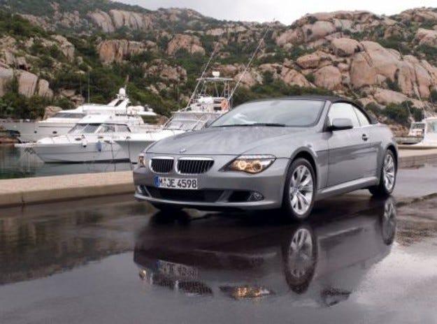 BMW шеста серия: фейслифт