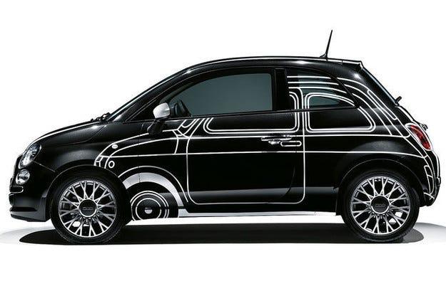 Fiat 500 с още възможности за индивидуализация