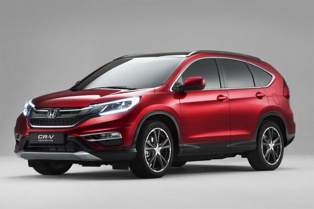 Honda представи европейската версия на кросоувъра CR-V