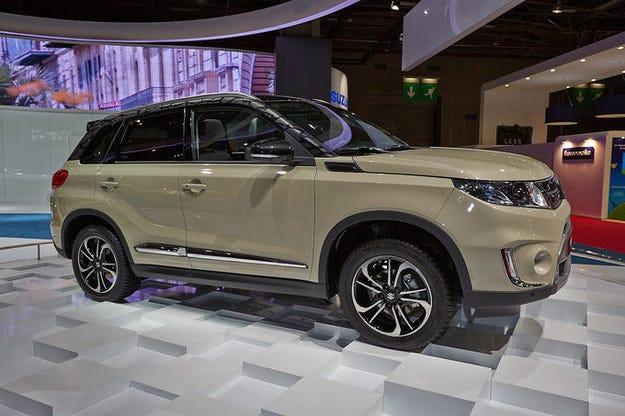 Новият Suzuki Vitara дебютира на салона в Париж