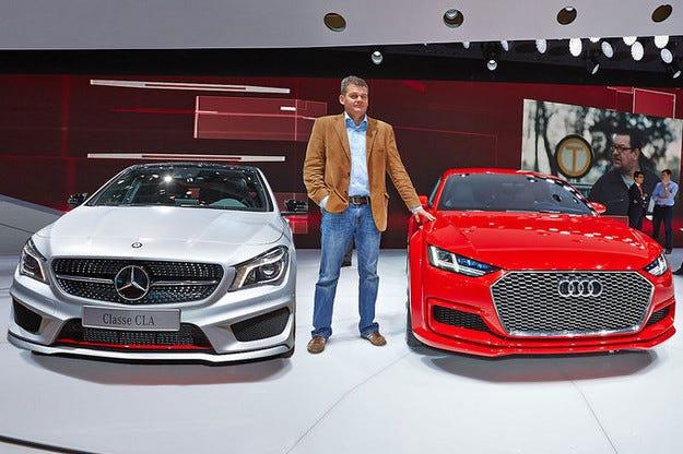 Сравнение Audi TT Sportback vs. Mercedes CLA