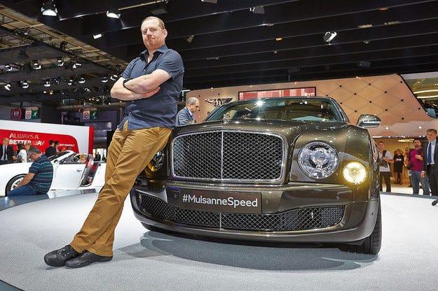Bentley Mulsanne Speed: Луксозна каляска от слонова кост