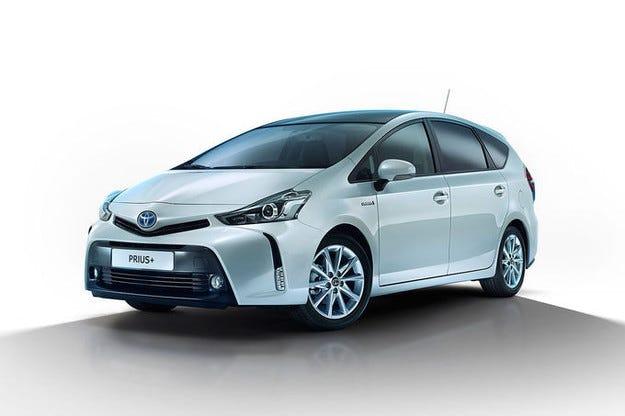 Toyota Prius+: Фейслифт за хибридния ван
