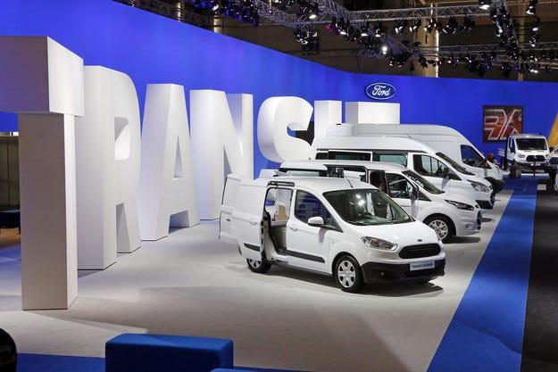 Европейските продажби на Ford с ръст от 12%