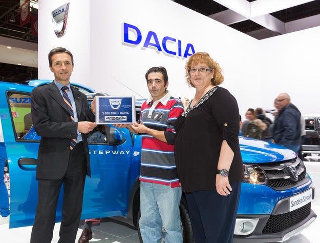 Dacia с 3 милиона продажби от 2004 година досега