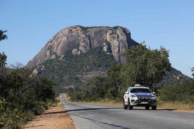 Goodyear и Райнер Зейтлов пристигнаха на най-южната точка на Африка