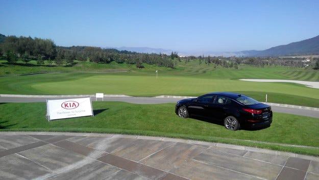 Kia е официален превозвач на Европейски шампионат по голф за клубни професионалисти 2014