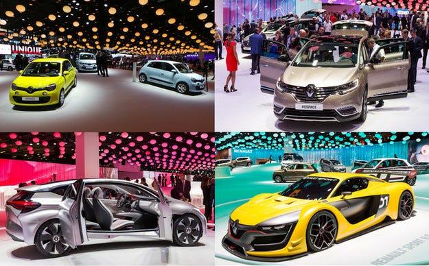 Отлична посещаемост на автомобилния салон в Париж