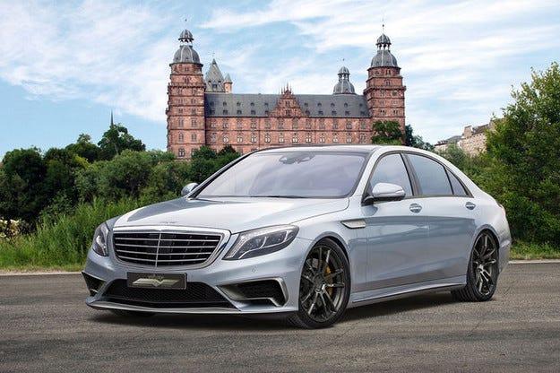 S65 на Voltage Design: Топ изпълнение на Mercedes S-класа