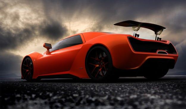 Trion Nemesis: Нов суперавтомобил с 2000 коня
