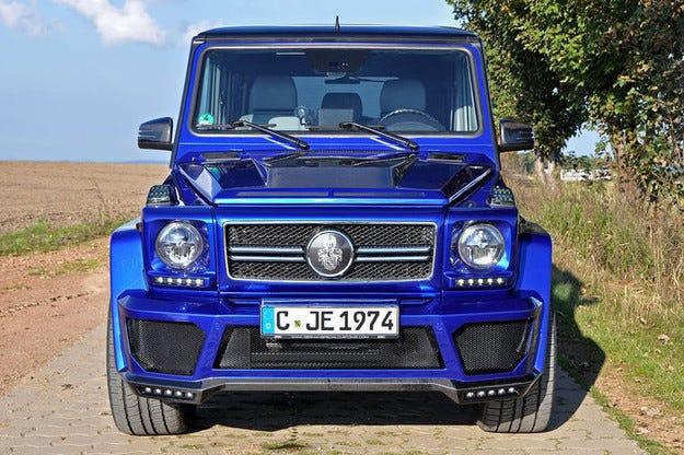 Нова доза адреналин: German Special Customs Mercedes G