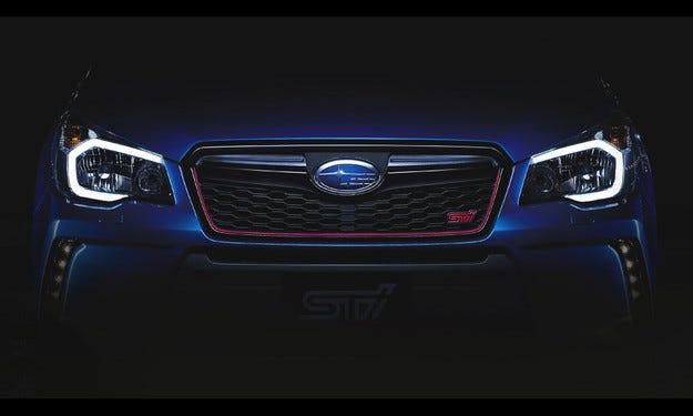 Subaru анонсира новия кросоувър Forester STI