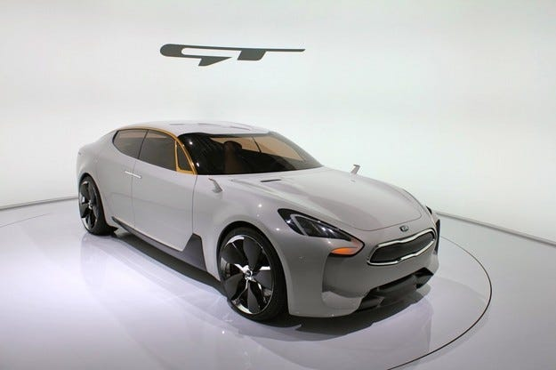 Kia планира нов спортен модел GT за 2016