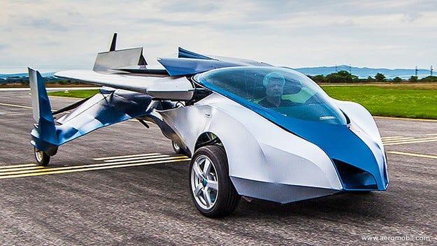 Представиха първия сериен летящ автомобил