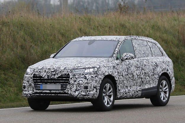 Бъдещият Audi Q7: Първи поглед в интериора
