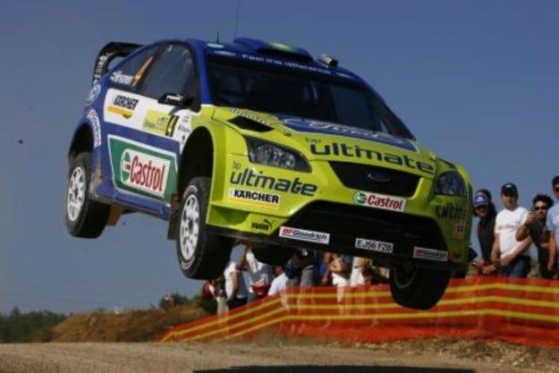 BP-Ford Abu Dhabi World Rally Team