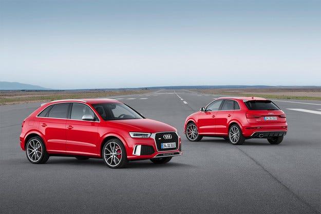 Audi разсекрети обновения кросоувър Q3