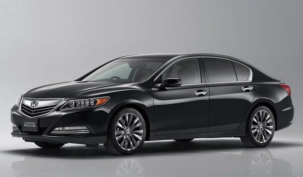 Honda представи новото поколение на седана Legend