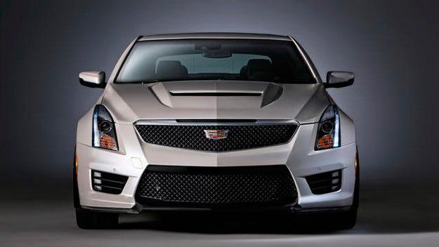 Разсекретиха предпремиерно Cadillac ATS-V