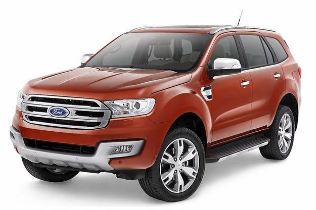 Ford представи новия всъдеход Everest