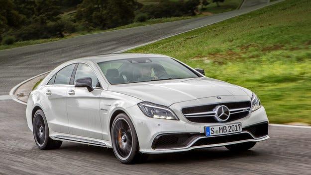 Mercedes подобрява светодиодните светлини Multibeam