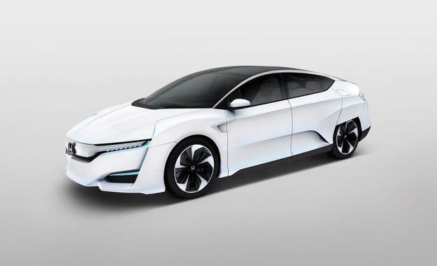 Honda обнови концепта на водородния си автомобил