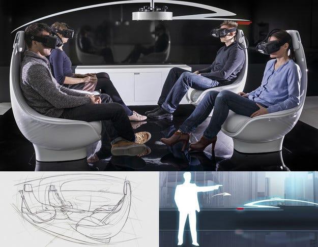 Автономният концепт на Mercedes дебютира в Лас Вегас