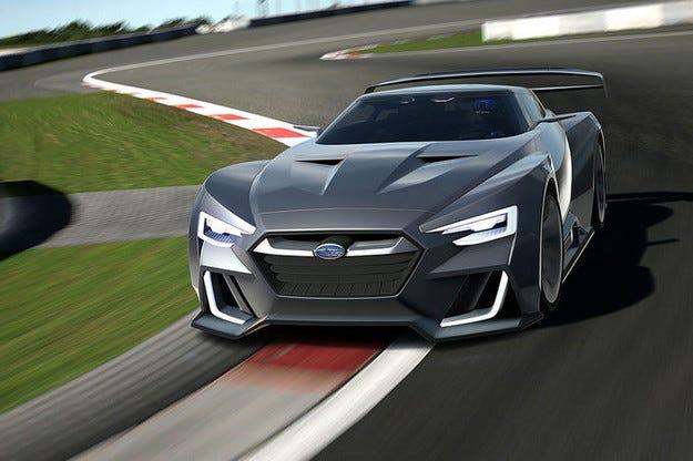 Subaru Viziv GT Vision Gran Turismo Subaru за геймъри