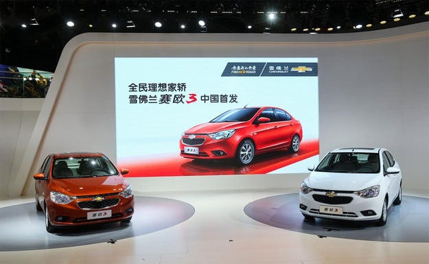 Chevrolet представи нов бюджетен седан