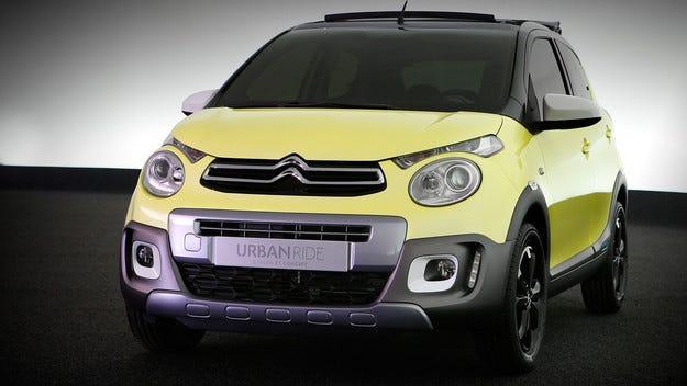 Citroen пусна конкурент на Opel Adam Rocks