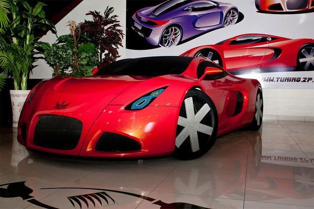 Представят първия украински супер автомобил през 2015 г.