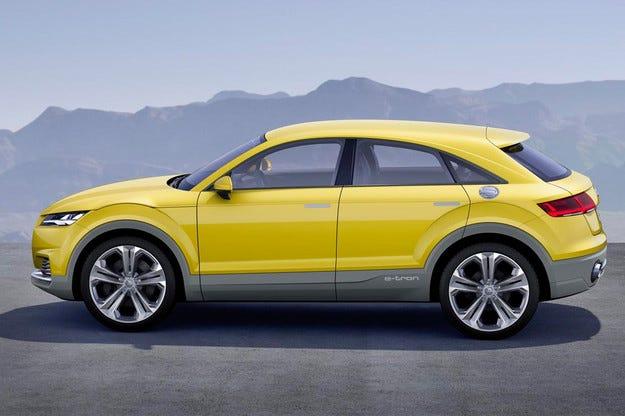 От Audi TT ще направят високопроходим модел