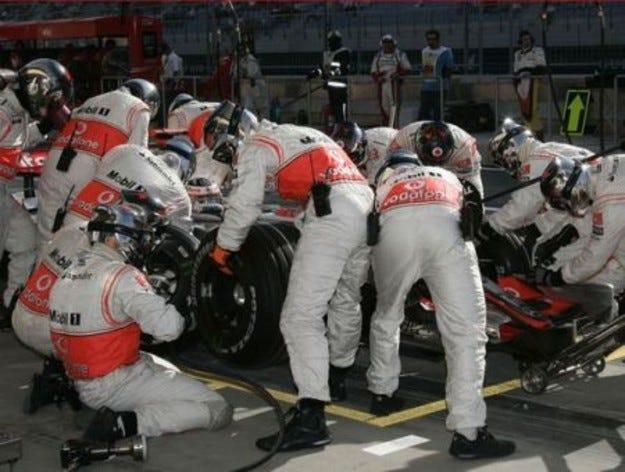 McLaren & Степни