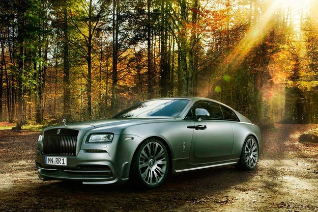 Rolls-Royce Wraith получава мотор със 707 конски сили