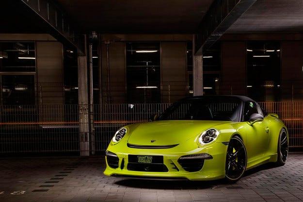 Спортният модел Porsche 911 Targa получи нова версия
