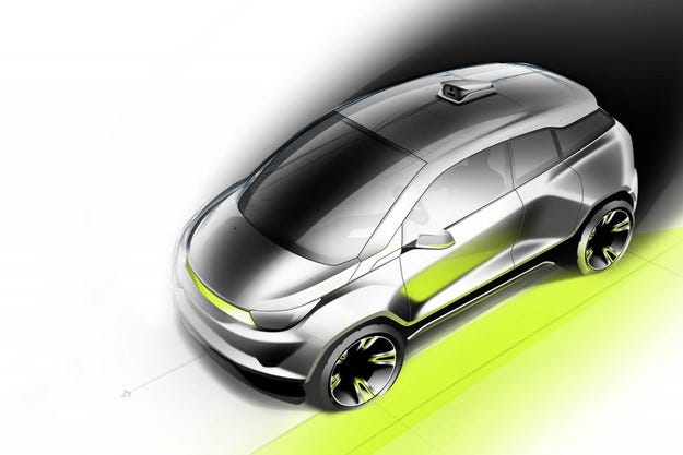 Rinspeed прави автономен автомобил с подвижно кормило