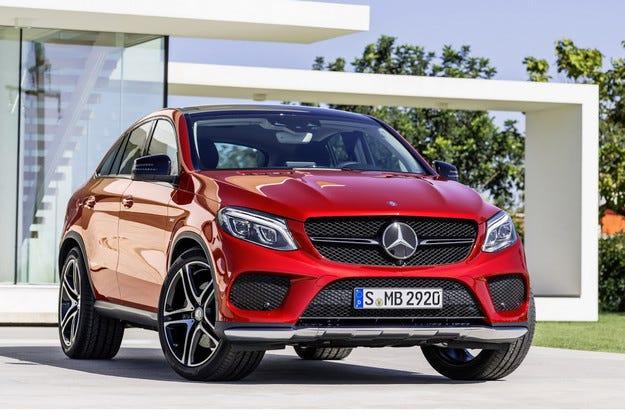 Mercedes представи официално конкурента на BMW X6