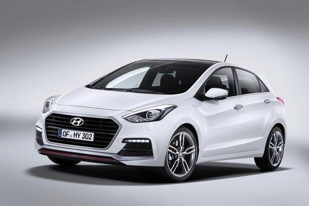 Корейската компания Hyundai обнови хечбека i30