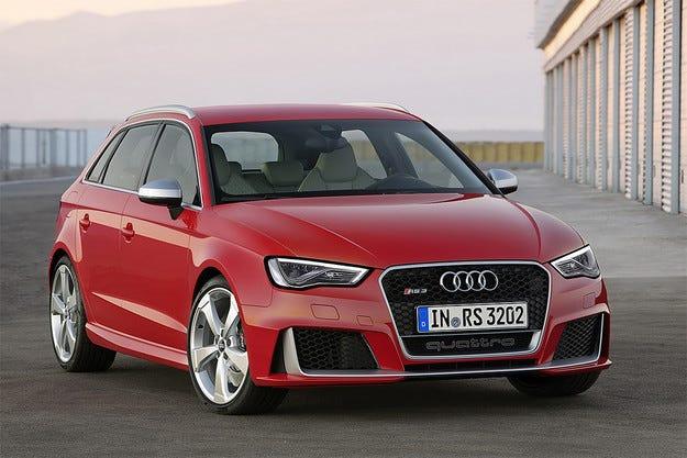 Audi разсекрети най-бързия хечбек RS3 Sportback