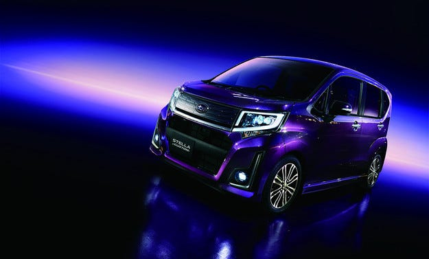 Subaru разработи новото поколение на компактната Stella