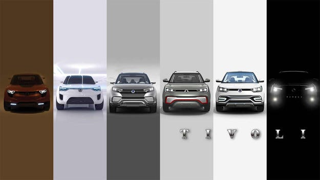 SsangYong показа пазарен конкурент на Nissan Juke