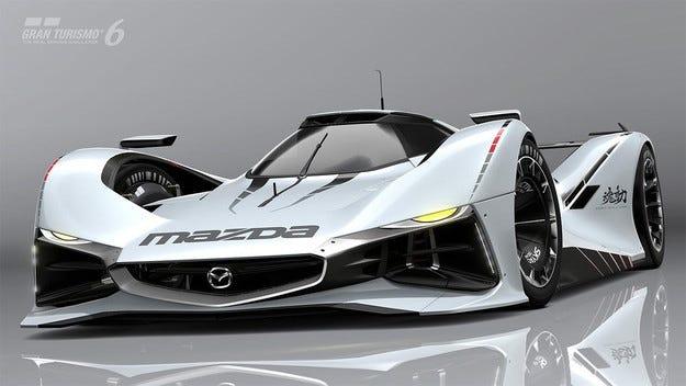 Mazda представи виртуалния концепт LM55