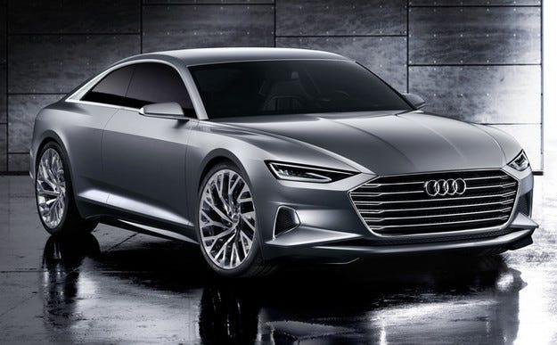 Audi Prologue: Или амбициозният преамбюл