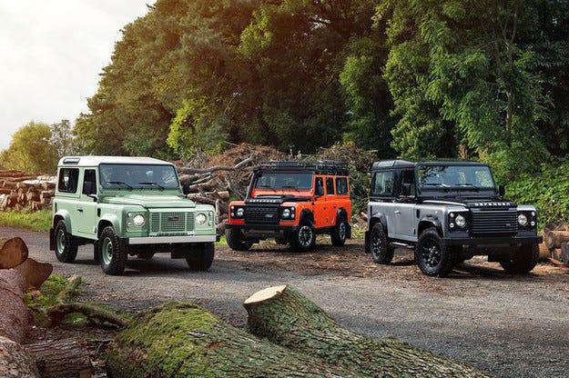 Край на една легенда: Специални модели на Land Rover Defender