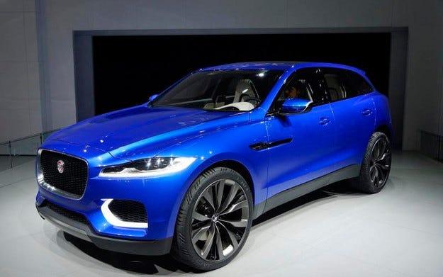 Jaguar анонсира първия си кросоувър